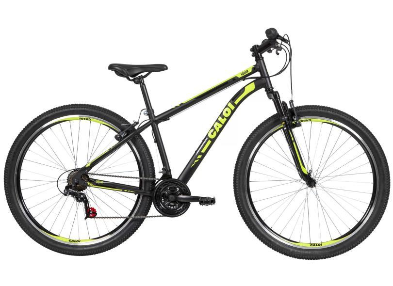 Bicicleta Caloi 21 Marchas Aro 29 Suspensão Dianteira V-Brake Velox 2020