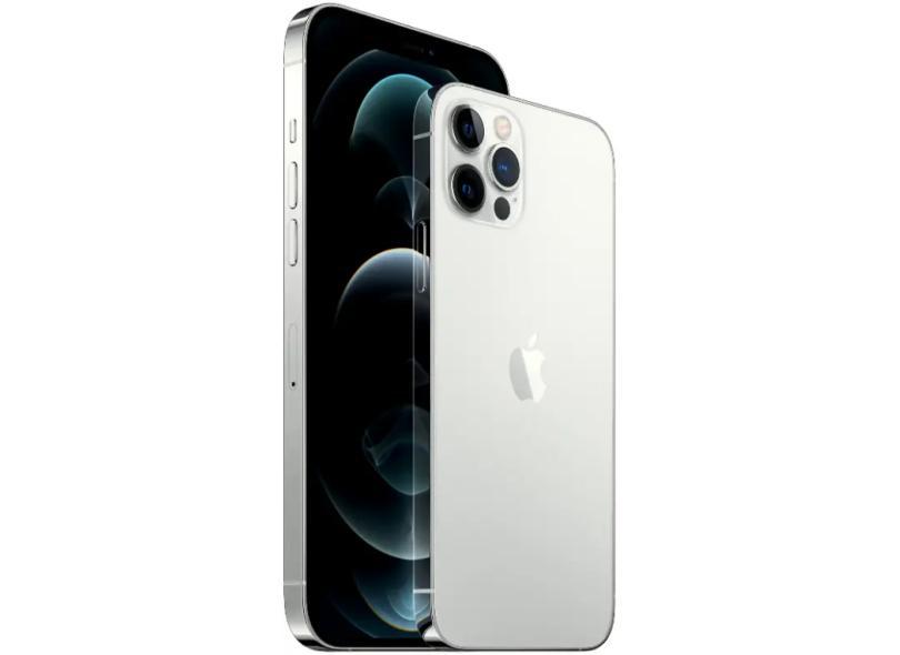 Smartphone Apple iPhone 12 Pro Max 6 GB 256GB Câmera Tripla Apple A14 Bionic iOS 14