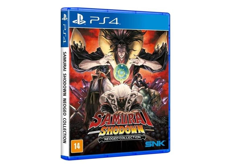 Jogo Samurai Shodown Neogeo Collection PS4 SNK
