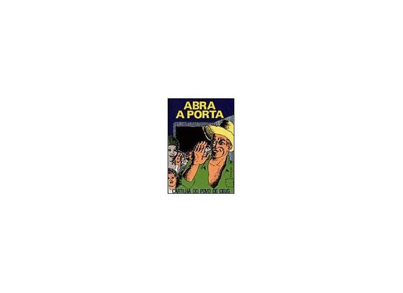 Abra a Porta: Cartilha do Povo de Deus - Paulus Editora - 9788534900843