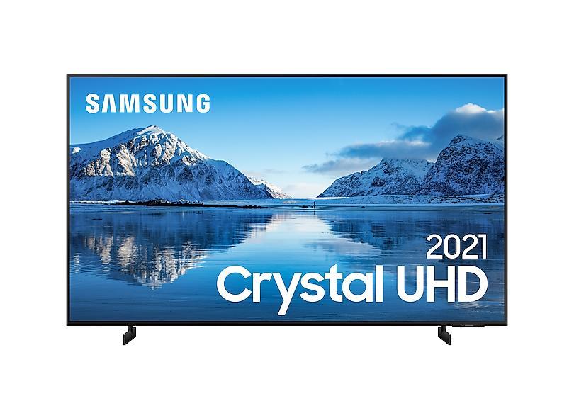 """Smart TV TV LED 85 """" Samsung Crystal 4K HDR 85AU8000 3 HDMI"""