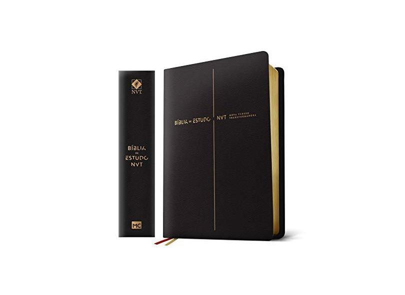 Bíblia De Estudo - Nvt - Capa Preta - Mundo Cristão - 9788543302966