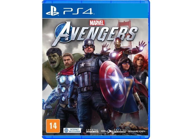 Jogo Marvel's Avengers PS4 Square Enix