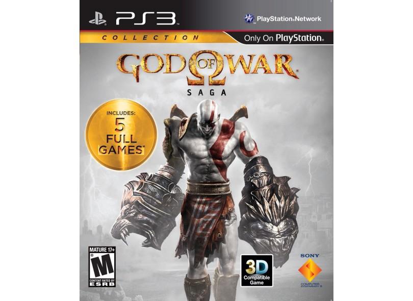 Jogo God Of War Saga Sony PlayStation 3