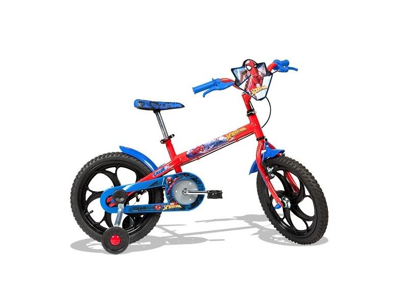 Bicicleta Caloi Homem Aranha Aro 16 SPIDER MAN 16 - 2017
