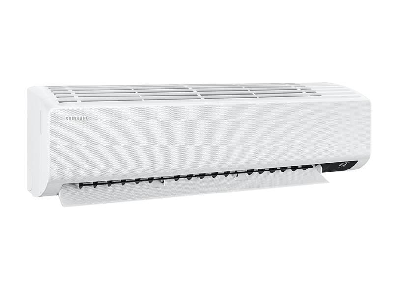 Ar-Condicionado Split Hi Wall Samsung Wind Free 24000 BTUs Inverter Controle Remoto Quente/Frio AR24TSHCBWKNAZ