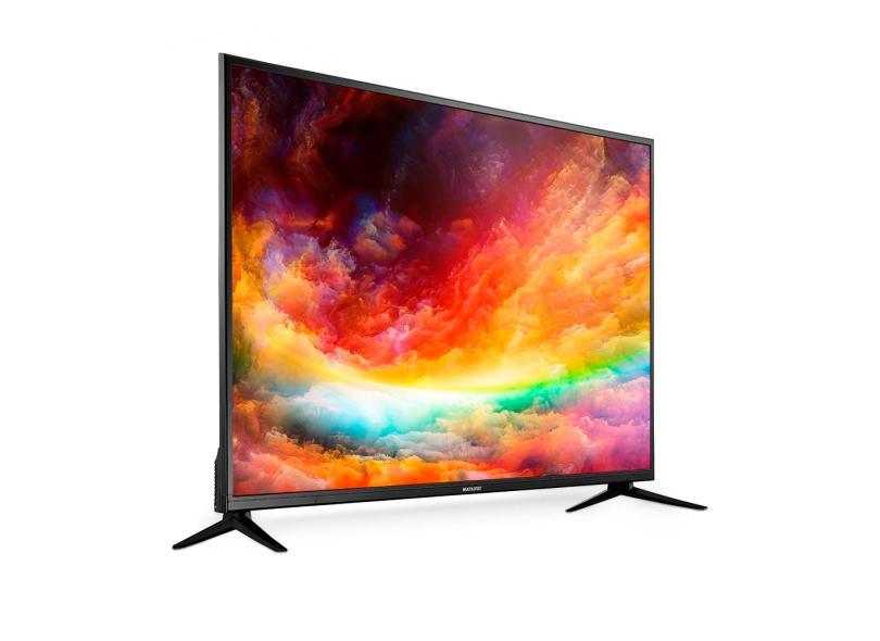 """Smart TV TV LED 50 """" Multilaser 4K TL019 3 HDMI"""