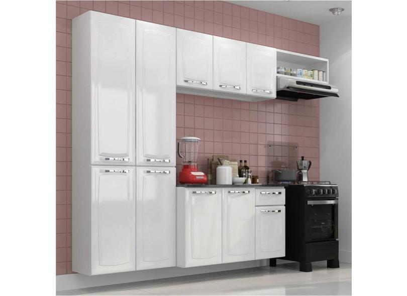 Cozinha Completa 10 Portas 1 Gaveta Amanda Itatiaia