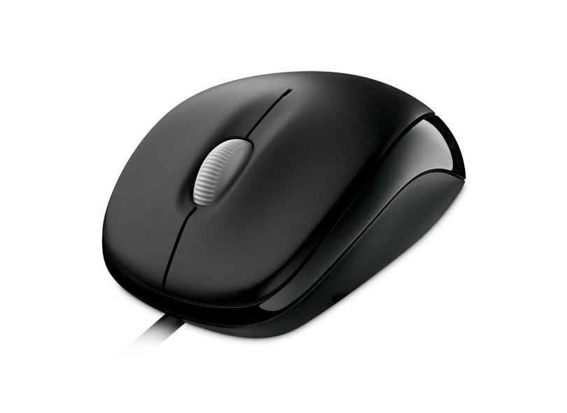 Mouse Óptico USB Wired 500 U81-00010 - Microsoft