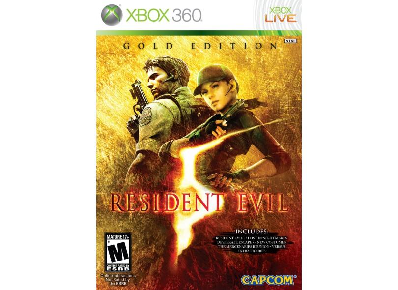 Jogo Resident Evil 5 Gold Edition Capcom Xbox 360