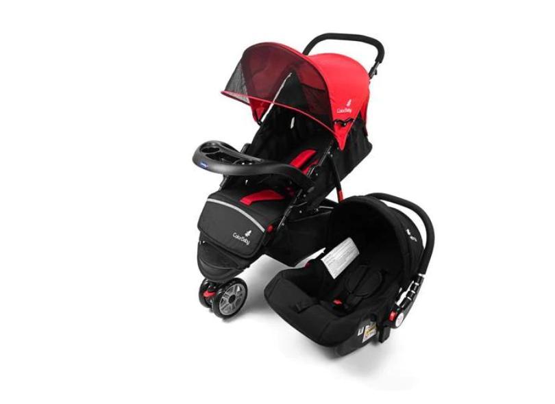 Carrinho de Bebê com Bebê Conforto ColorBaby 1505104443