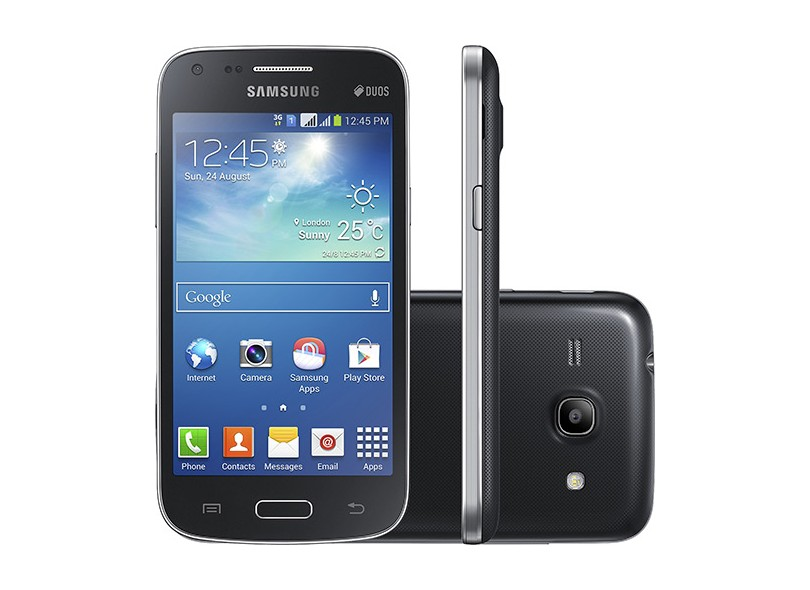 Smartphone Samsung Galaxy Core Plus G3502L 2 Chips 4GB Android 4.3 (Jelly Bean) 3G Wi-Fi