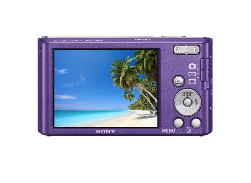 Câmera Digital Sony Cyber-Shot 20.1 MP HD DSC-W830