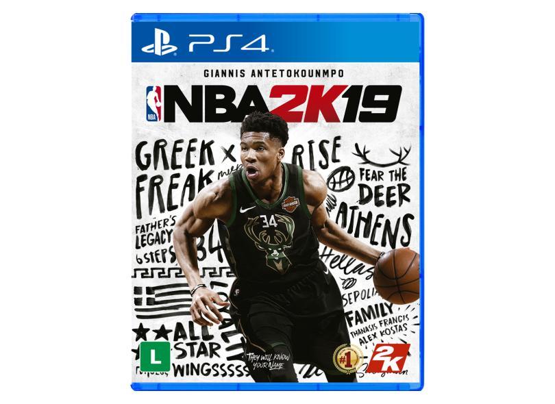 Jogo NBA 2K19 PS4 2K