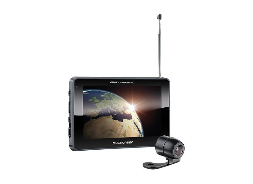 "GPS Automotivo Multilaser Tracker GP039 7 """