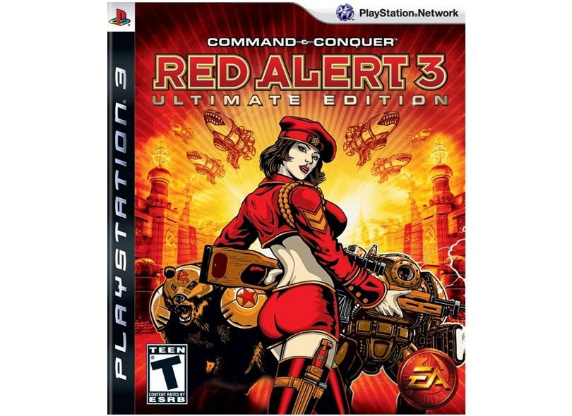Jogo Command & Conquer: Red Alert 3 EA PS3