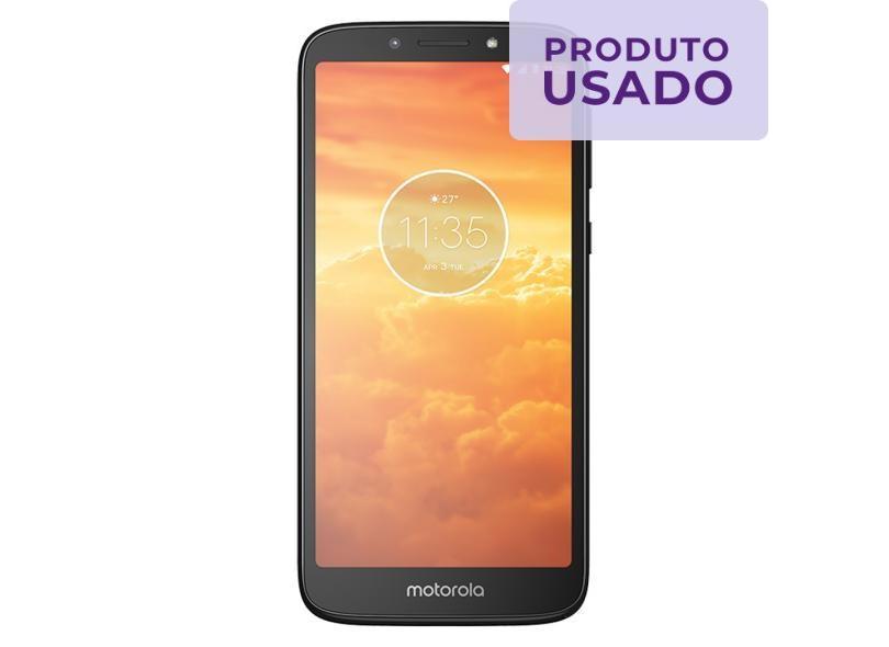 Smartphone Motorola Moto E E5 Play Usado 16GB 8.0 MP 2 Chips Android 8.1 (Oreo) 4G Wi-Fi