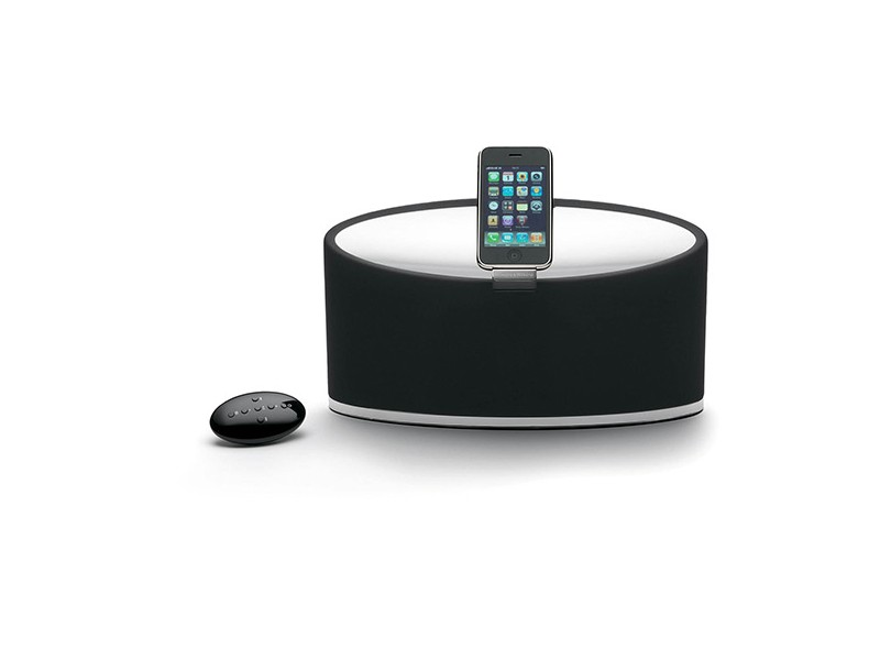Dock Station com Caixa de Som Bowers and Wilkins Zeppelin Mini