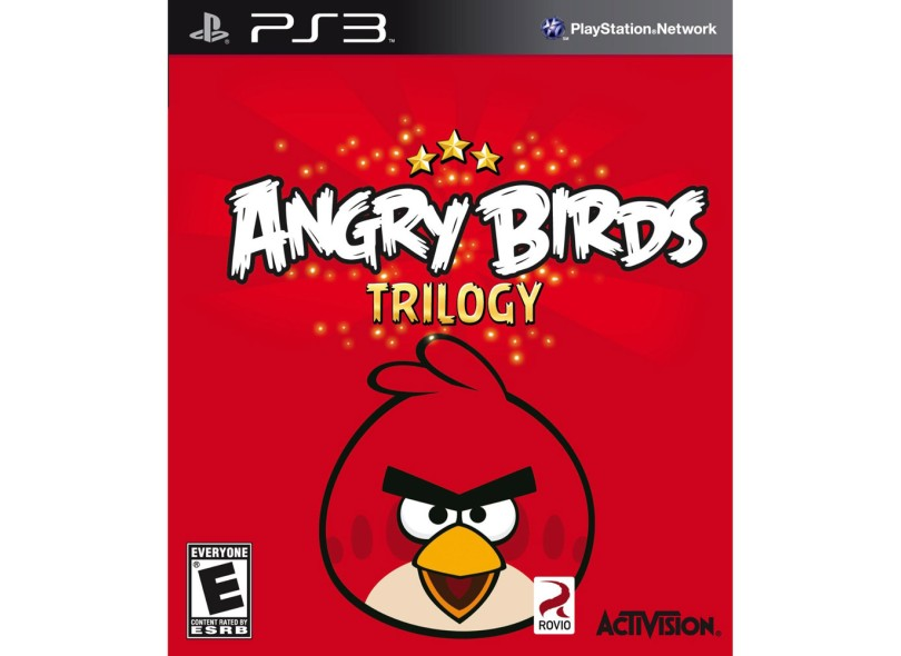 Jogo Angry Birds Trilogy Activision PlayStation 3