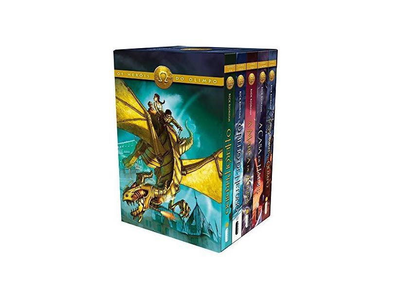 Os Heróis do Olimpo - Box - Rick Riordan - 9788580579505