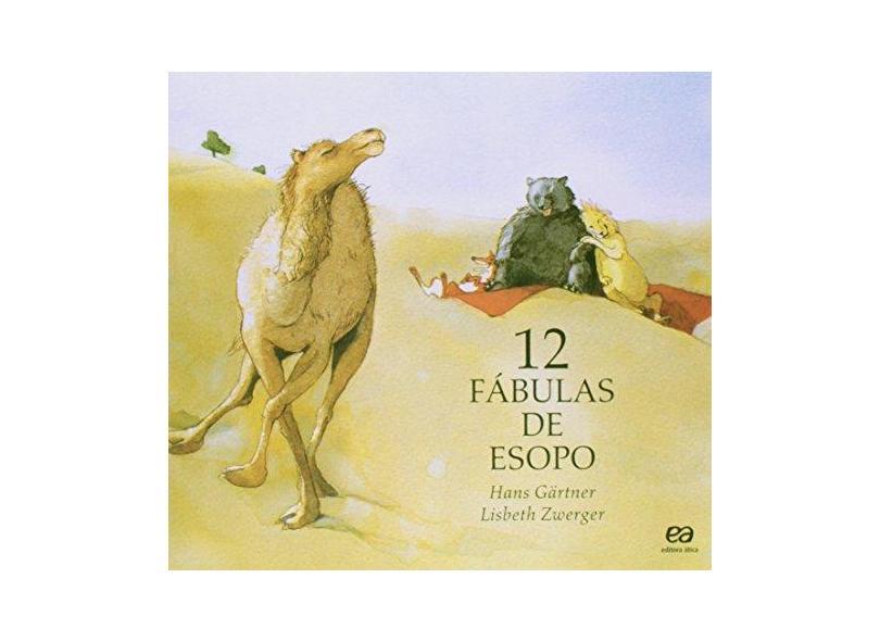 12 Fábulas de Esopo - Série Clara Luz - Gartner, Hans - 9788508046218