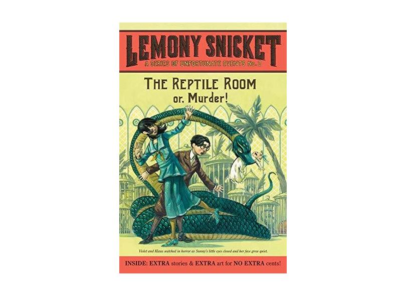 The Reptile Room: or, Murder! - Lemony Snicket - 9780061146312
