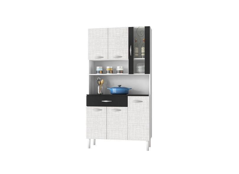 Cozinha Compacta 1 Gaveta 6 Portas Golden Kits Paraná