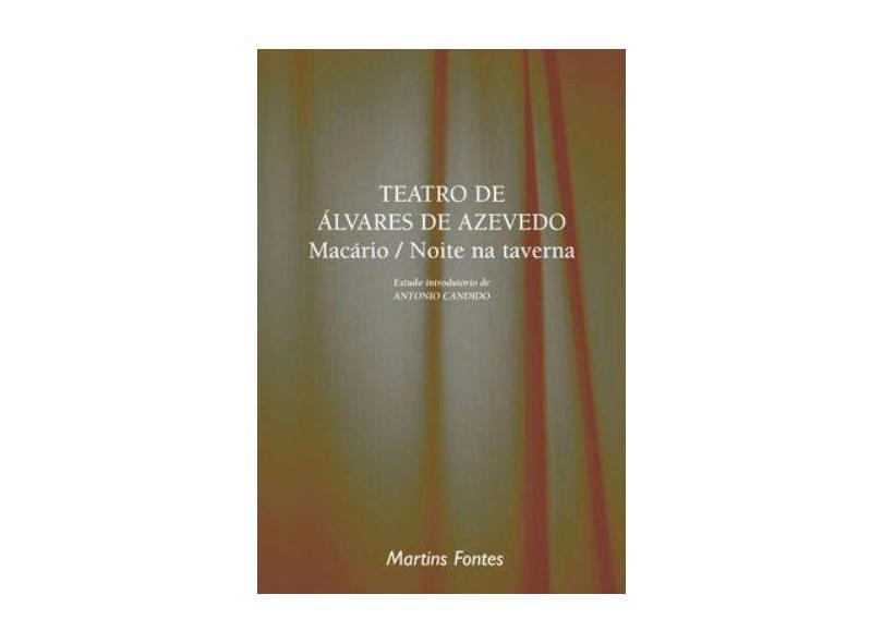 Teatro De Alvares De Azevedo. Macário / Noite Na Taverna - Capa Comum - 9788533615755