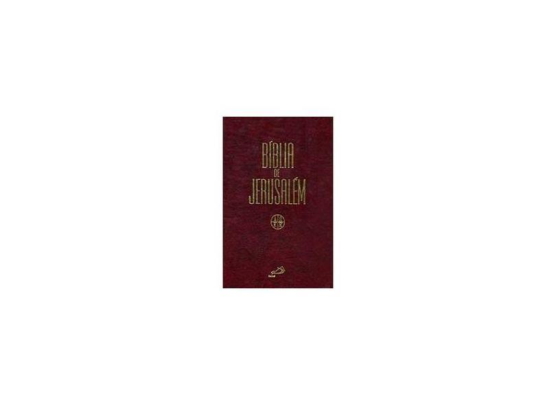 Bíblia de Jerusalém - Paulus Editora - 9788534919777