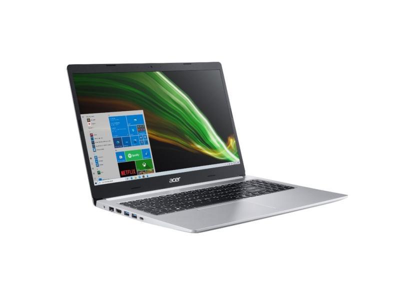 """Notebook Acer Aspire 5 Intel Core i5 1035G1 10ª Geração 8 GB de RAM 256.0 GB 15.6 """" GeForce MX350 Windows 10 A515-55G-51HJ"""
