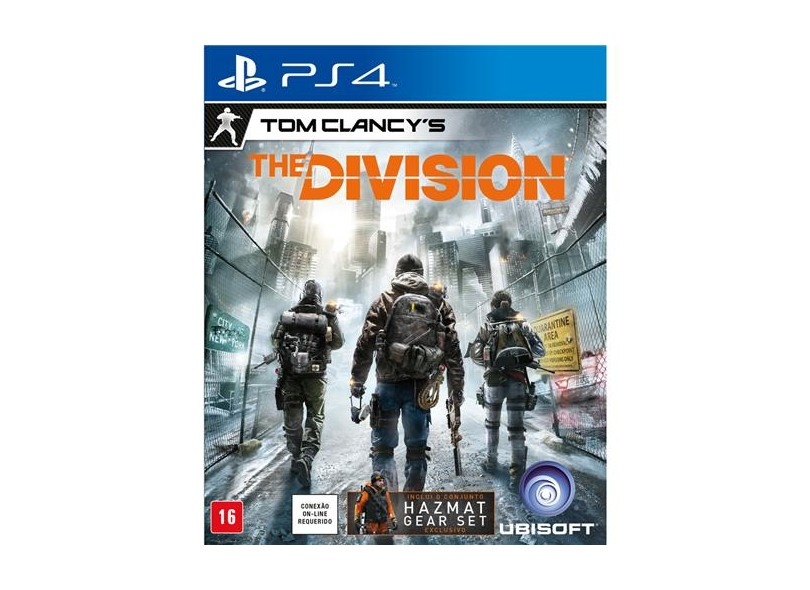 Jogo Tom Clancy's The Divison PS4 Ubisoft