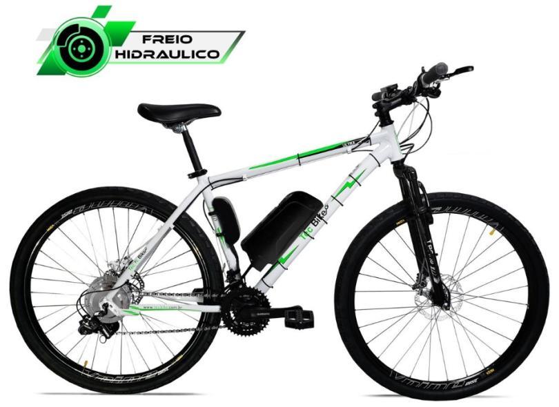 Bicicleta Elétrica TecBike 21 Marchas Aro 29 Suspensão Dianteira a Disco Hidráulico Tec Ultra 3.0 350w