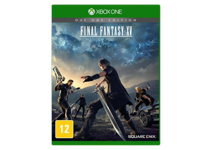 Jogo Final Fantasy XV Xbox One Square Enix