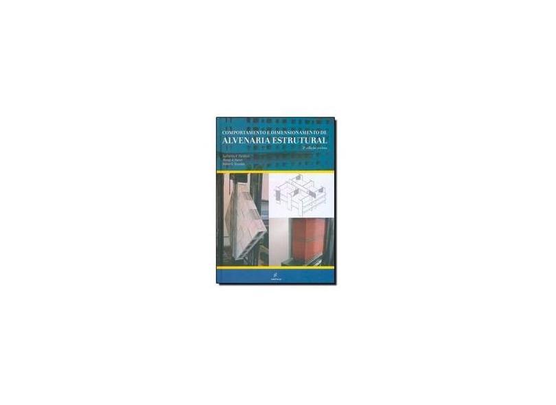 Comportamento E Dimensionamento De Alvenaria Estrutural - Capa Dura - 9788576003267