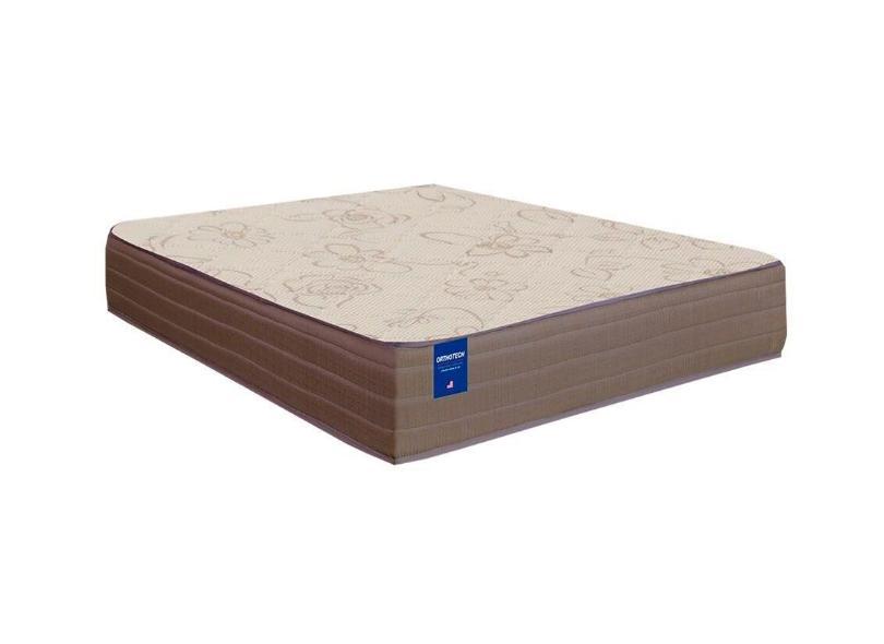 Cama Box Casal com Colchão Orthotec Inducol 138cm Umaflex