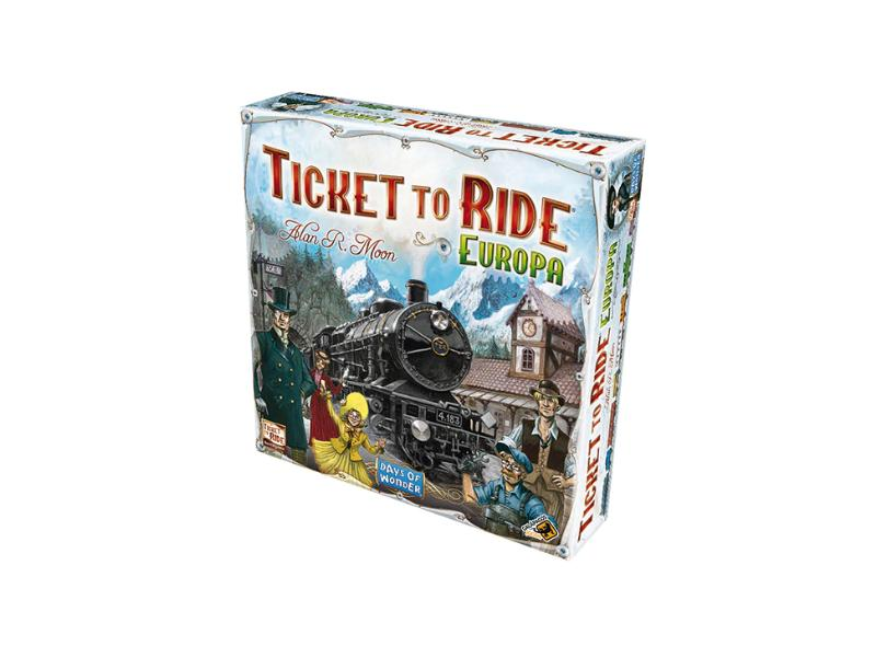 Jogo Ticket to Ride Europa Galápagos