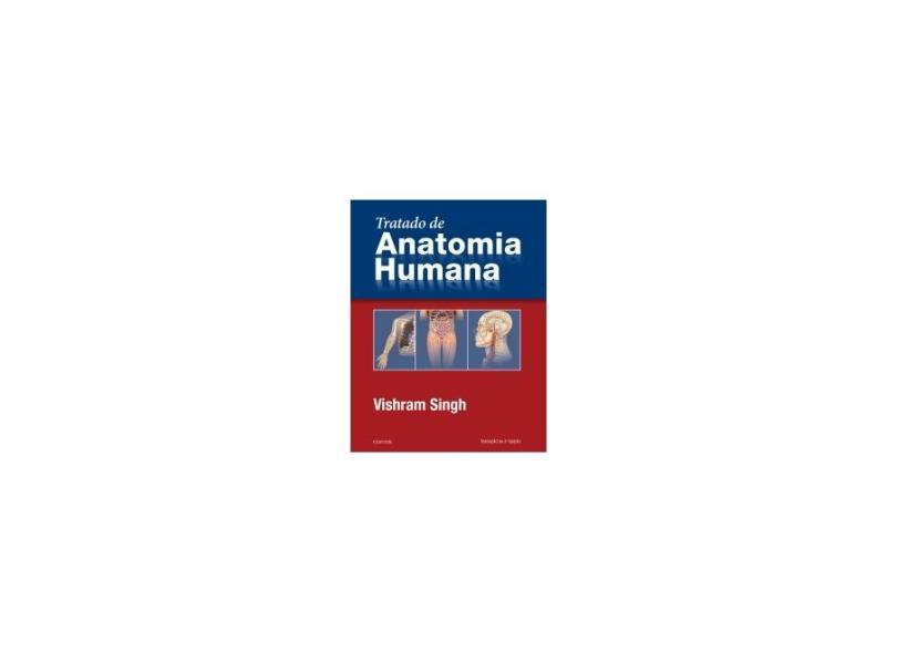 Tratado De Anatomia Humana - Vishram Singh - 9788535287448