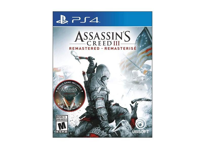 Jogo Assassin's Creed lll PS4 Ubisoft