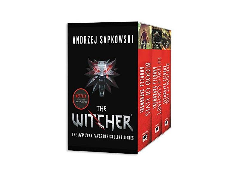 The Witcher Boxed Set: Blood of Elves, The Time of Contempt, Baptism of Fire - Andrzej Sapkowski - 9780316438971