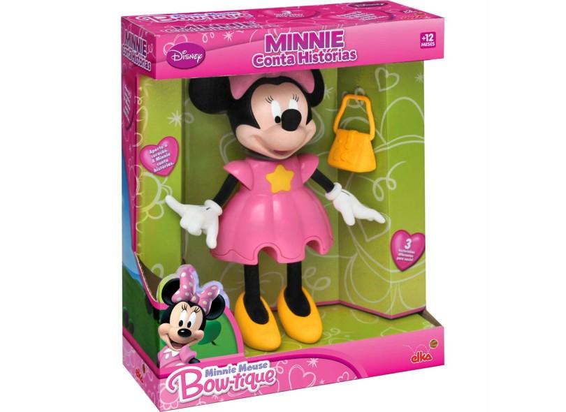 Boneca Disney Minnie Conta Histórias Elka