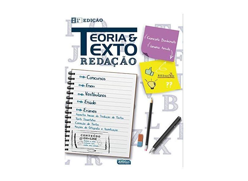 Teoria e Texto - Redação - Bombonato, Giancarla - 9788583393061