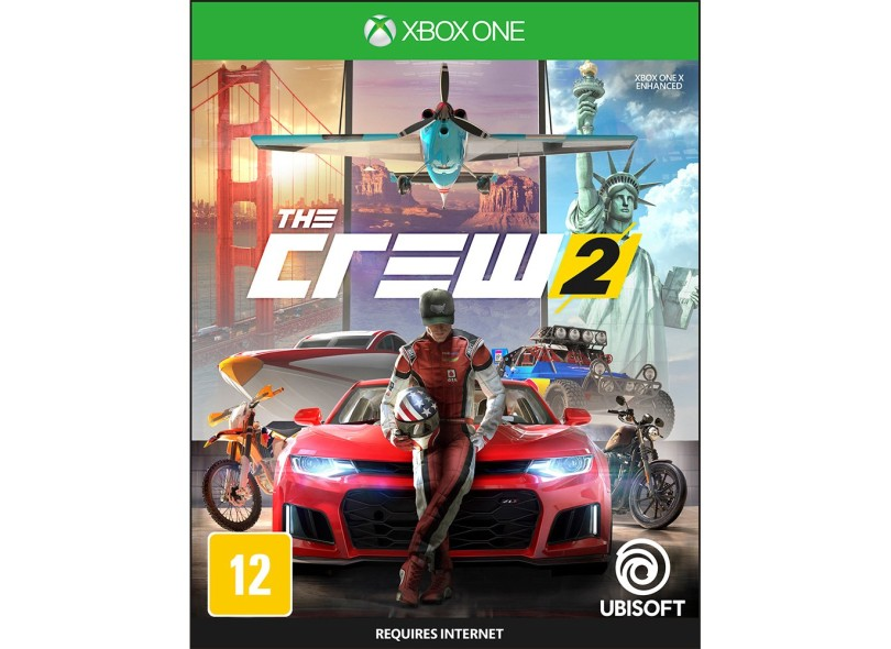 Jogo The Crew 2 Xbox One Ubisoft