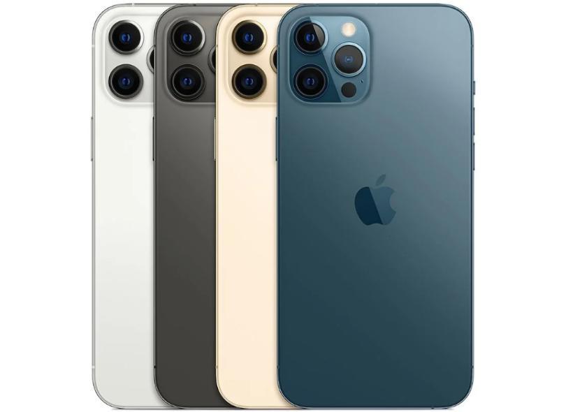 Smartphone Apple iPhone 12 Pro Max 6 GB 128GB Câmera Tripla Apple A14 Bionic iOS 14