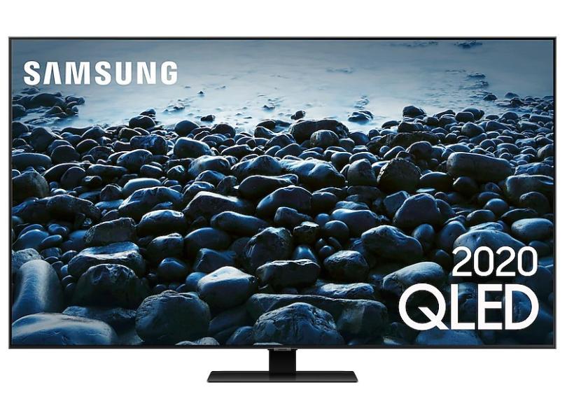 "Smart TV TV QLED 65 "" Samsung 4K HDR QN65Q80TAGXZD 4 HDMI"