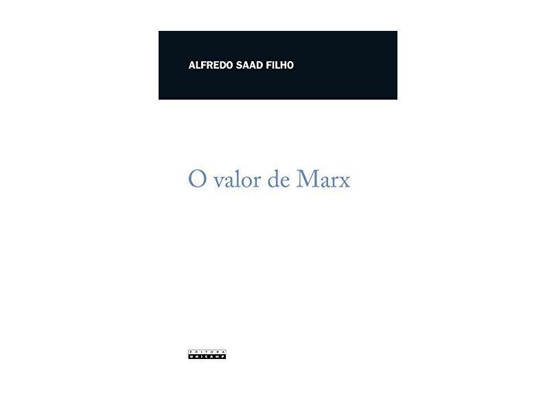 Valor De Marx, O - Capa Comum - 9788526809260