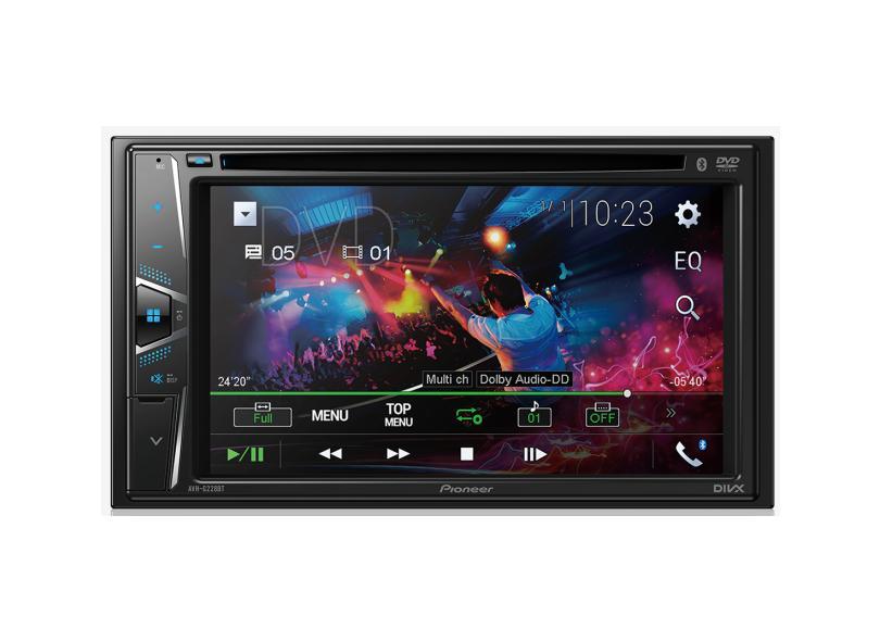 "DVD Player Automotivo Pioneer 6.2 "" AVH-G228BT"