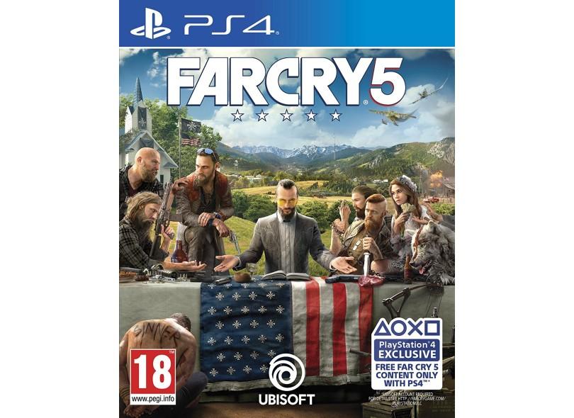 Jogo Far Cry 5 PS4 Ubisoft