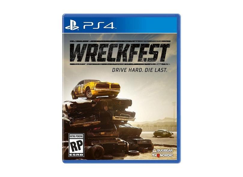 Jogo Wreckfest Lacrado PS4 THQ