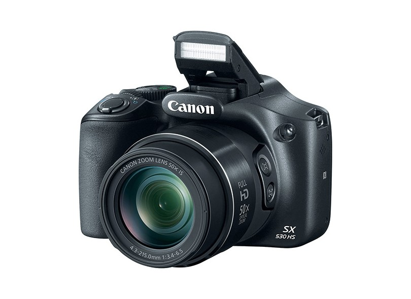 Câmera Digital Semiprofissional Canon PowerShot 16 MP Full HD SX530 HS