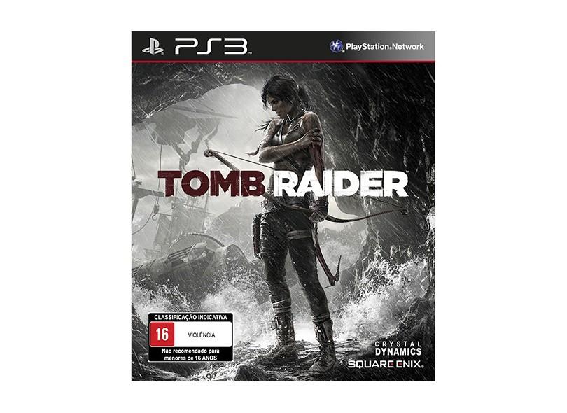 Jogo Tomb Raider PlayStation 3 Square Enix